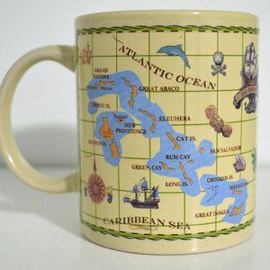 Coffee Mug Ceramic Bahamas